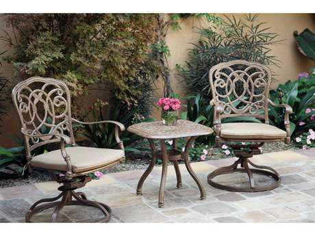 Darlee Outdoor Living Standard Florence Cast Aluminum Lounge Set