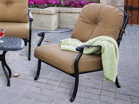 Darlee Outdoor Living Sedona Cast Aluminum Antique Bronze Lounge Chair (Price Includes 4)r