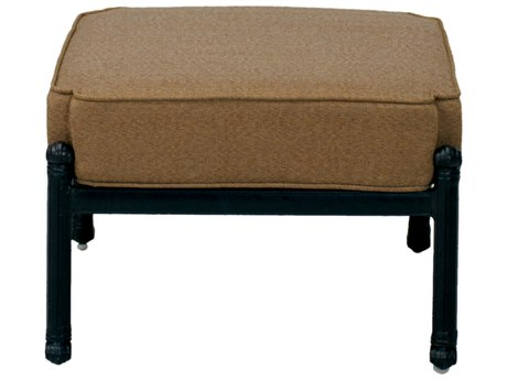 Darlee Outdoor Living Madison Cast Aluminum Antique Bronze Ottoman (Price Includes 2) PatioLiving