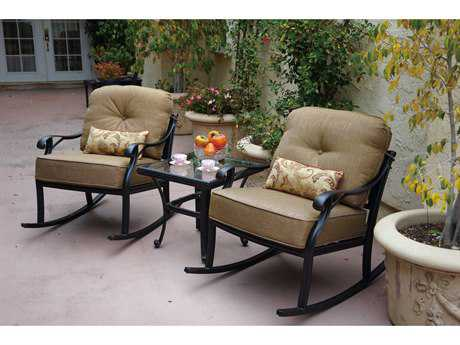 Darlee Outdoor Living Nassau Cast Aluminum Lounge Set