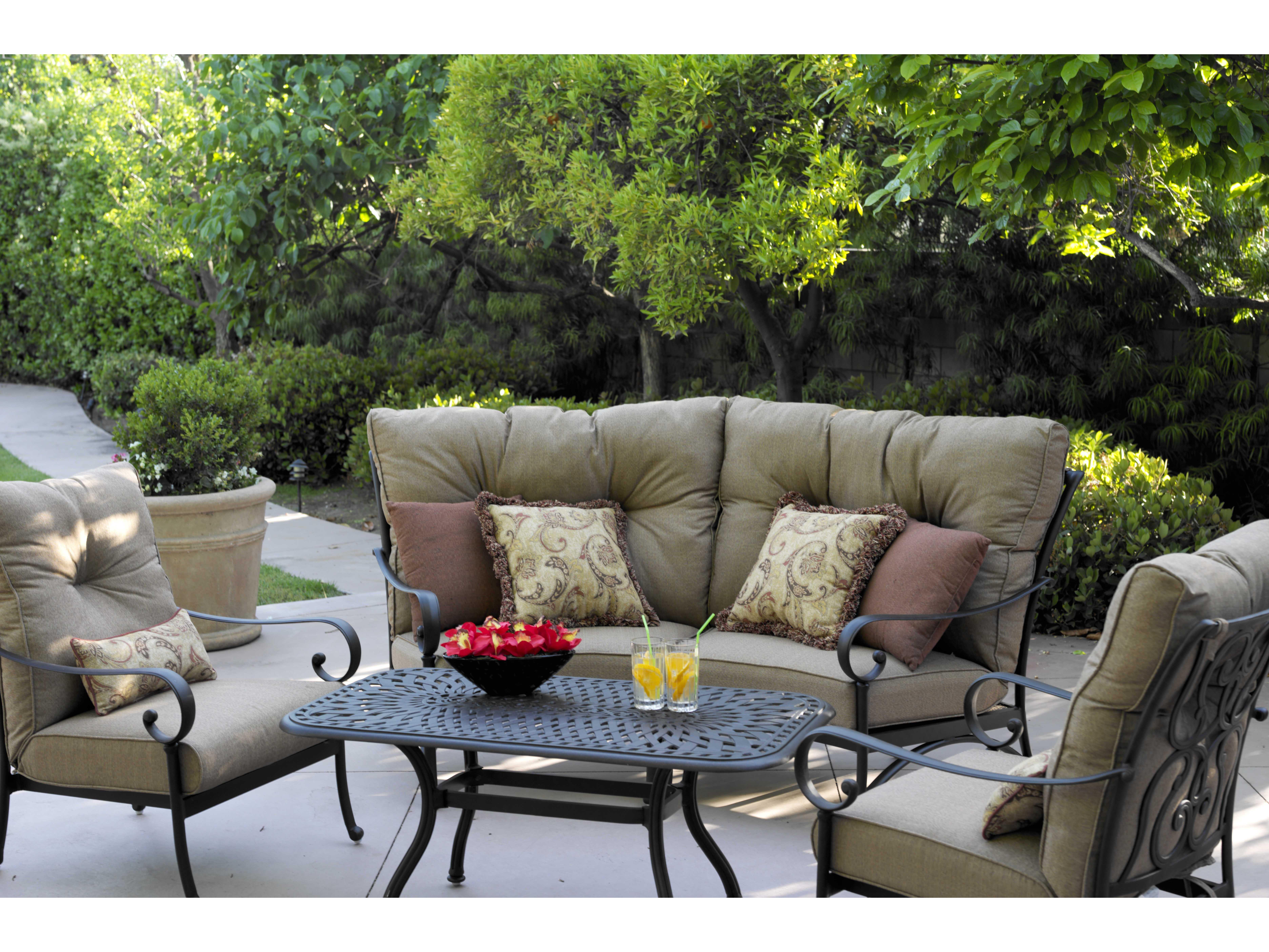 Darlee Outdoor Living Standard Santa Anita Cast Aluminum