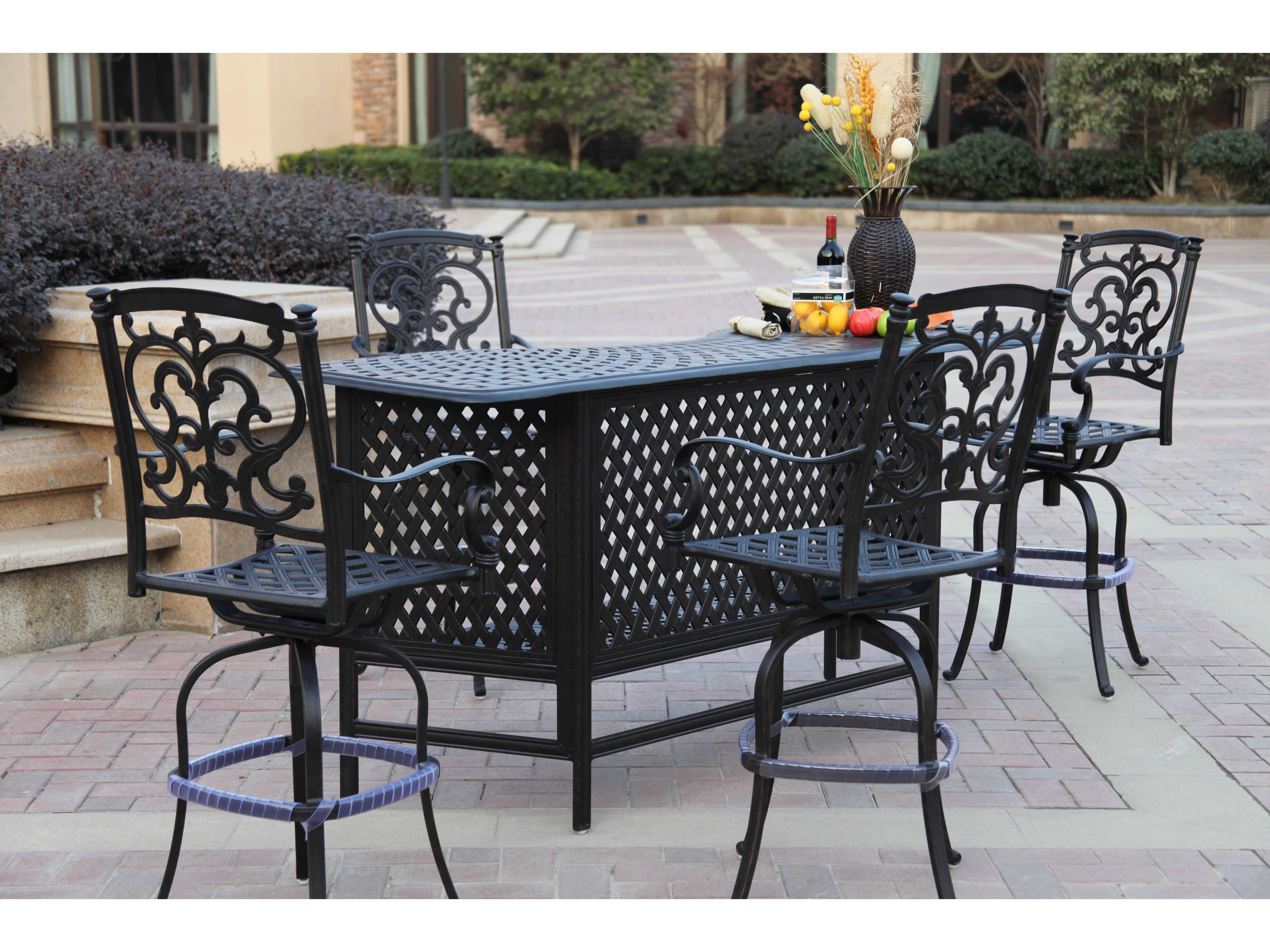 Darlee Outdoor Living Standard Series 60 Cast Aluminum 82