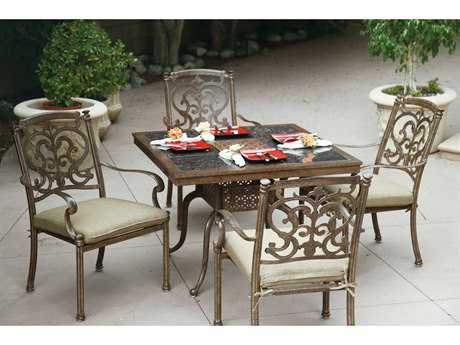 Darlee Outdoor Living Standard Santa Barbara Patio Dining Table