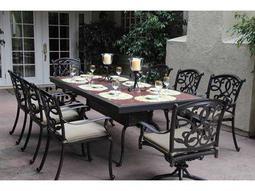 Standard Santa Monica Casual Cushion Cast Aluminum Dining Set