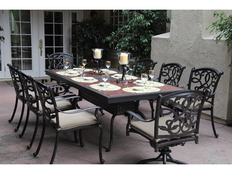 Gothic style outdoor dining furniture
