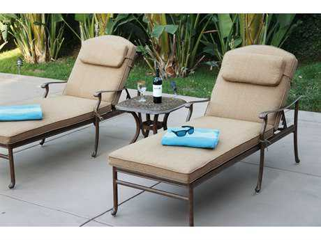 Darlee Outdoor Living Sedona Cast Aluminum Pool Set
