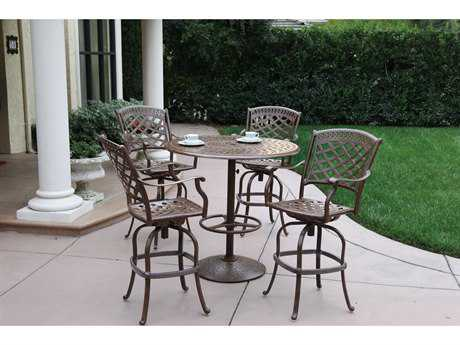 Darlee Outdoor Living Sedona Cast Aluminum Bar Set