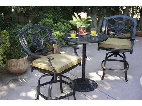 Darlee Outdoor Living Standard Ten Star Cast Aluminum Counter Set