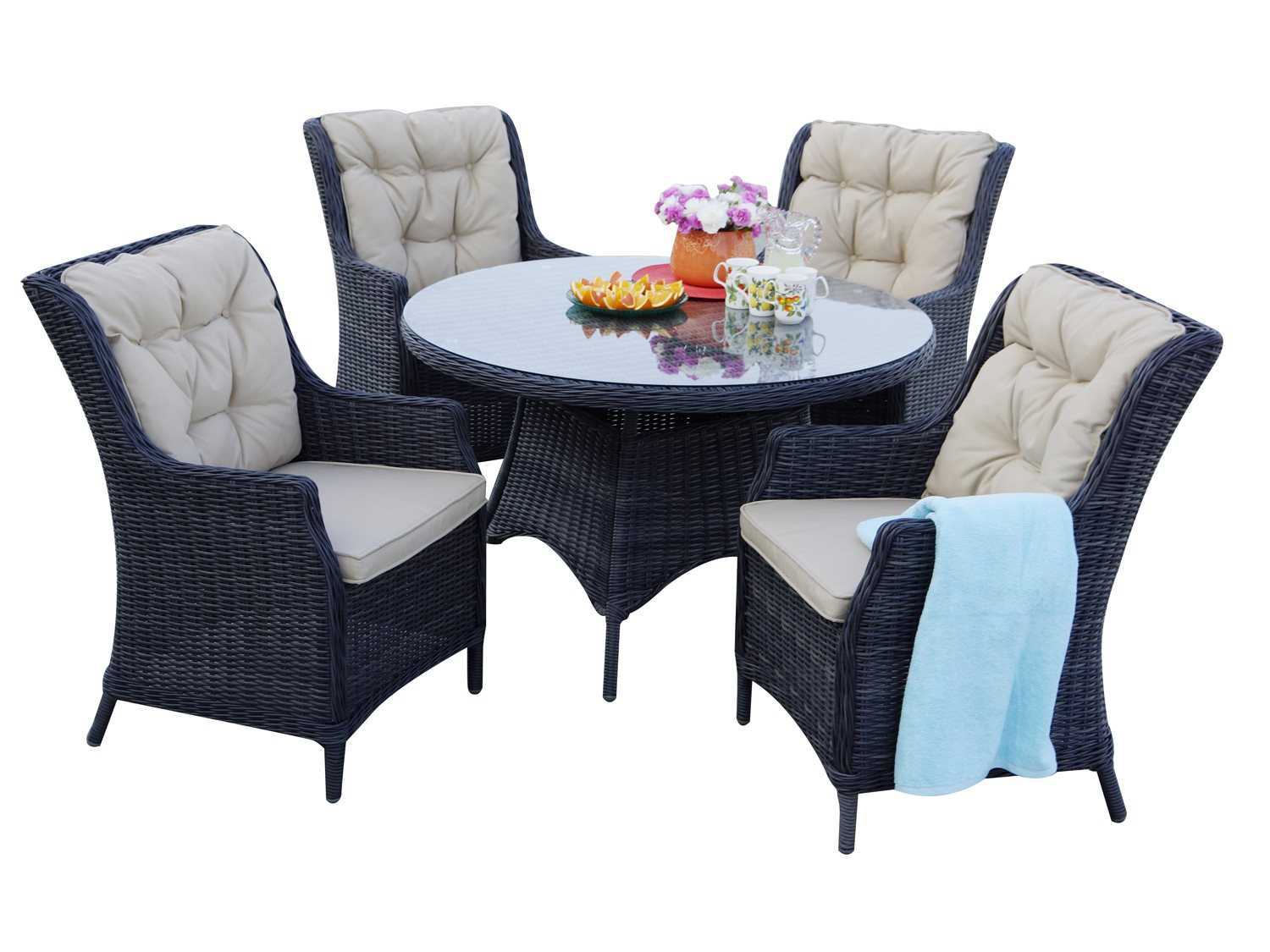 Darlee Outdoor Living Valencia 48'' Round Dining Table