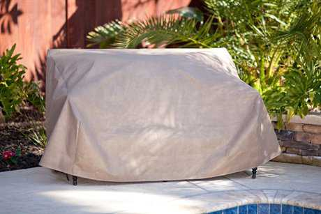 Duck Covers Loveseat Cover 54W x 37D x 35H DCMLV543735