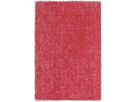 Dalyn Bright Lights Rectangular Hot Pink Area Rug
