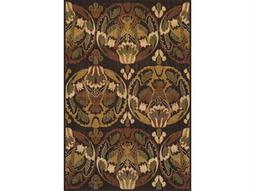 Dalyn Columbia Rectangular Chocolate Area Rug