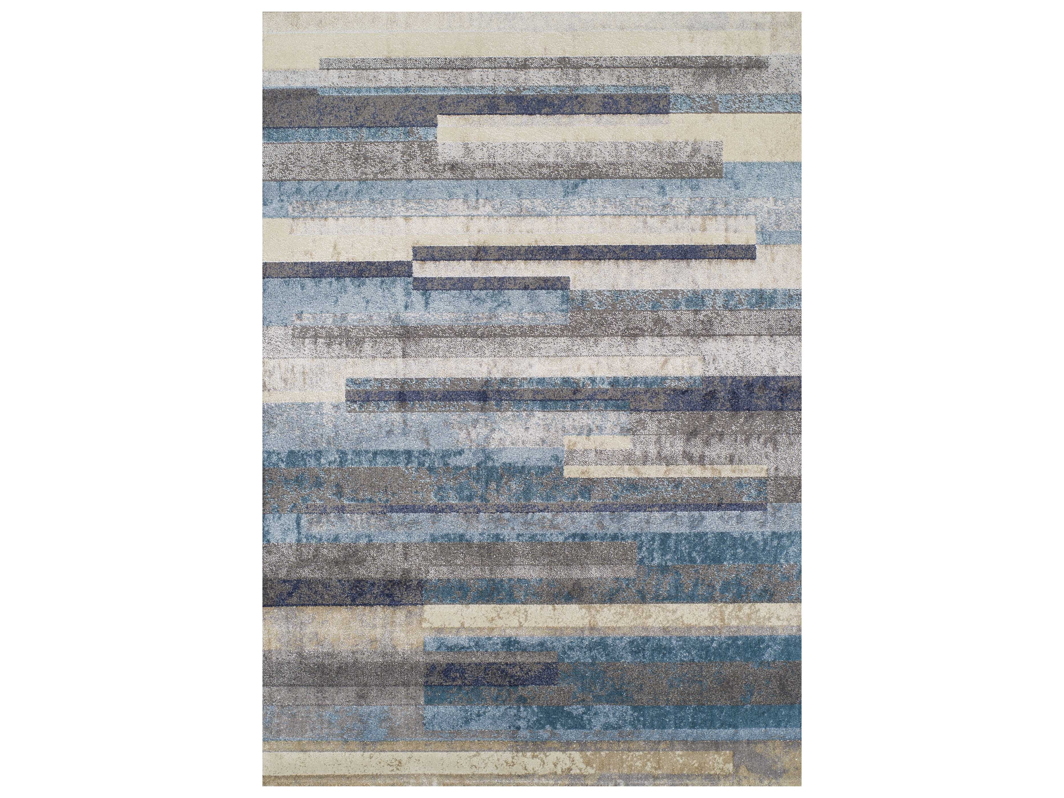 Dalyn lavita linen pewter navy teal taupe rectangular for Navy and teal rug