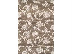 Dalyn Omega Rectangular Pewter Area Rug