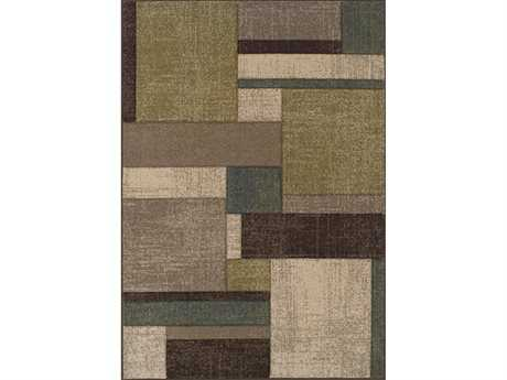 Dalyn Radiance Rectangular Beige Area Rug