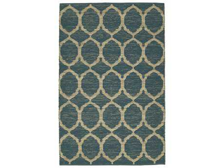 Dalyn Santiago Rectangular Teal Area Rug
