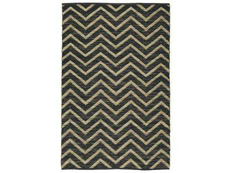 Dalyn Santiago Rectangular Black Area Rug