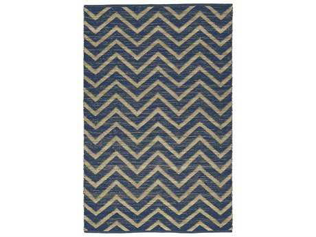 Dalyn Santiago Rectangular Navy Area Rug