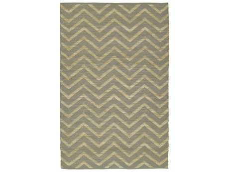 Dalyn Santiago Rectangular Silver Area Rug