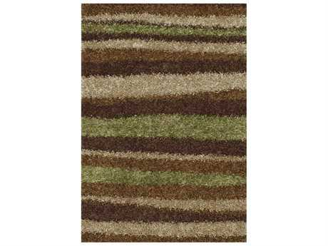 Dalyn Visions Rectangular Mocha Area Rug