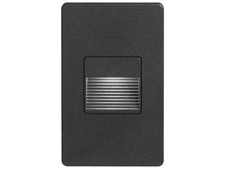 Dainolite Black 3'' Wide LED Step/Wall Light