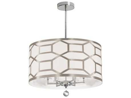 Dainolite Pembroke Winter Gold Six-Light 22'' Wide Chandelier