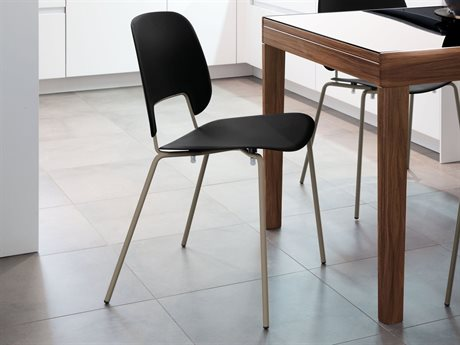 Domitalia Traffic Stacking Dining Side Chair (Sold in 4)
