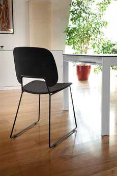 Domitalia Traffic Stacking Dining Side Chair (Sold in 2)
