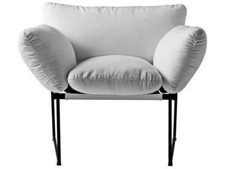 Driade Elisa Steel Cushion Armchair