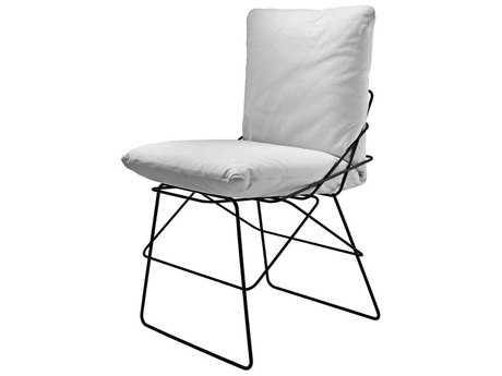 Driade Sof Sof Outdoor Steel Cushion Dining Chair
