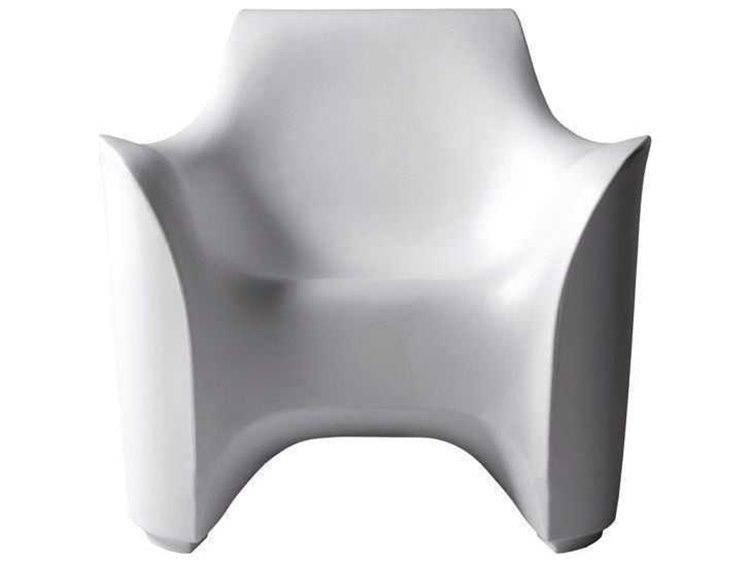 Driade Tokyo-Pop Polyenthylene Monobloc Armchair in White