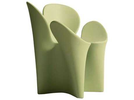 Driade Clover Polyenthylene Armchair in Green