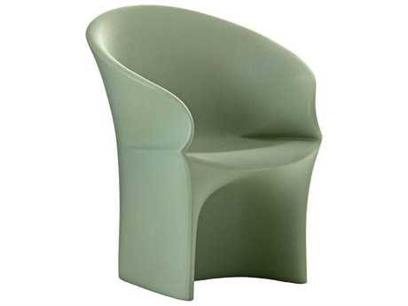 Driade Mermaid Monobloc Armchair in Green