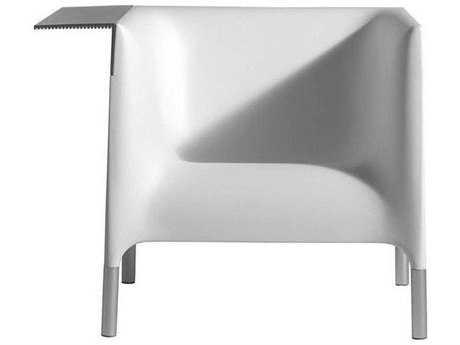 Driade Out/in Polyethylene Monobloc Armchair in White