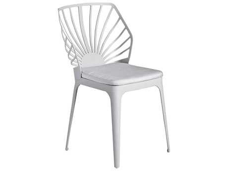 Driade Sunrise Aluminum Cushion Side Chair