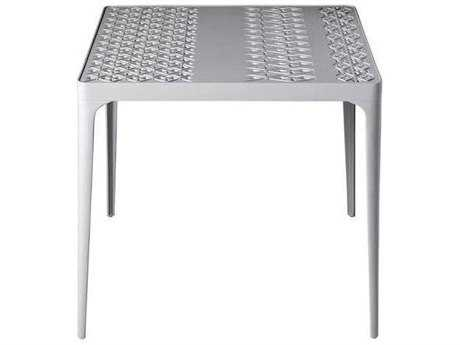 Driade Sunrise Aluminum 31.5'' Wide Square Dining Table