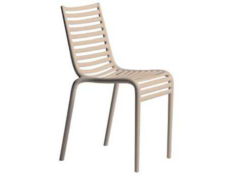 Driade Pip-e Polypropylene Monobloc Stackable Chair in Carnation