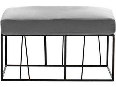 Driade Herve Steel Cushion Table/Ottoman