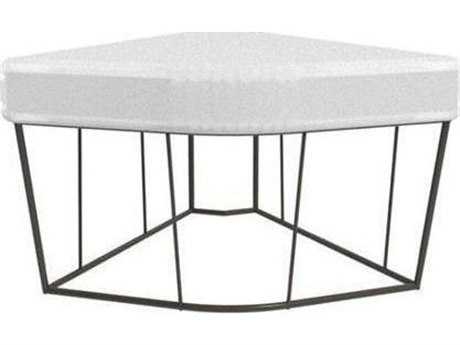 Driade Herve Steel Cushion Table/Corner Element
