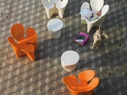 Driade Clover Polyenthylene Lounge Set