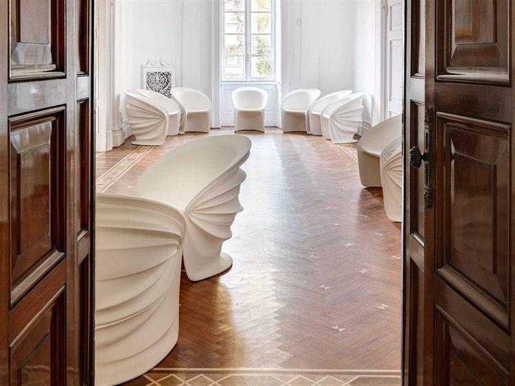 Driade Modesty Veiled Polyethylene Lounge Set