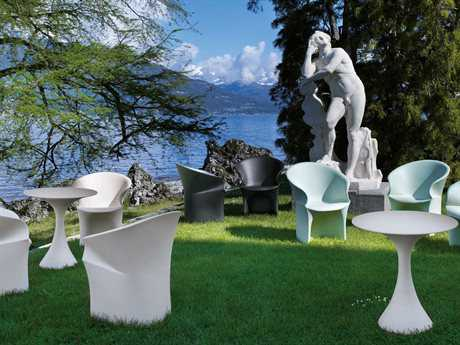 Driade Mermaid Polyethylene Dining Set