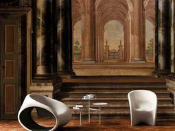 Driade Mt1 Polyethylene Lounge Chair Set