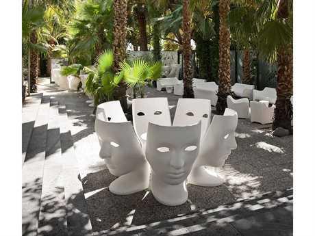 Driade Nemo Polyenthylene Monobloc Lounge Set