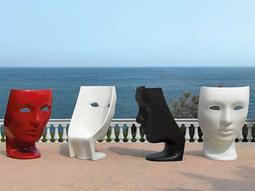 Driade Nemo Polyenthylene Monobloc Lounge Chair Set