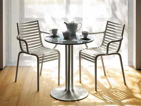 Driade Pip-e Polypropylene Monobloc Dining Set in White