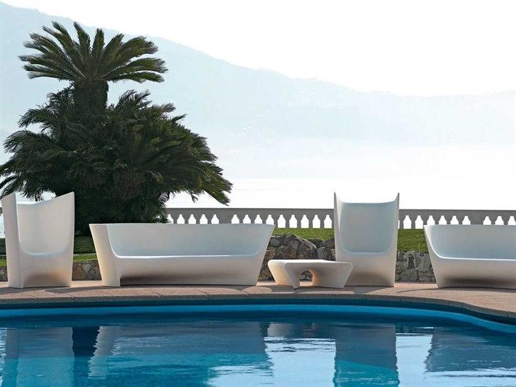 Driade Plie Grand Plie Piaffe Polyenthlene Monobloc Lounge Set