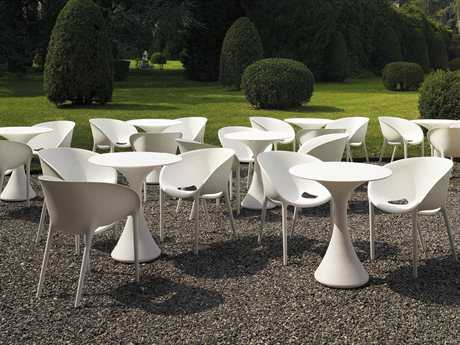 Driade Soft Egg Polypropylene Monobloc Dining Set