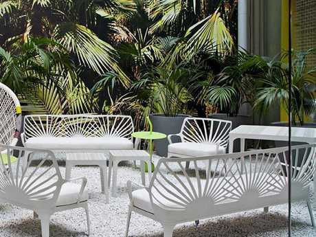 Driade Sunrise Aluminum Lounge Set