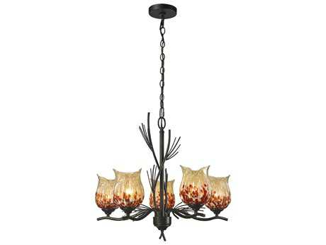 Dale Tiffany Spotted Owl Hanging Fixture